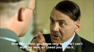 Hitler wants Himmler to wipe his arse