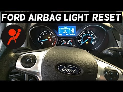 Can You Reset Airbag Light On Ford Without Fixing The Fault Youtube