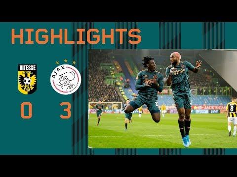 Highlights Vitesse - Ajax   Blind En Ziyech Maken Rentree   KNVB Beker