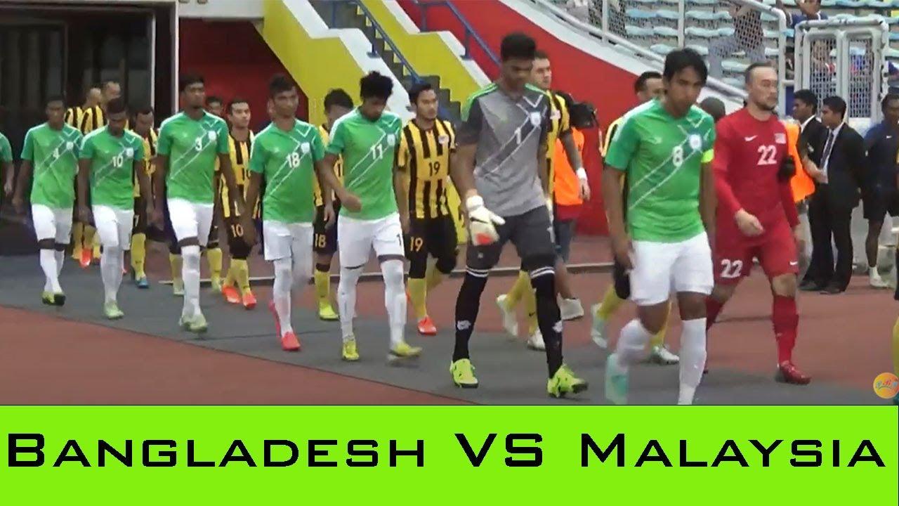 Bangladesh VS Malaysia Football Match 2016 ।। Football ।। Sports - YouTube