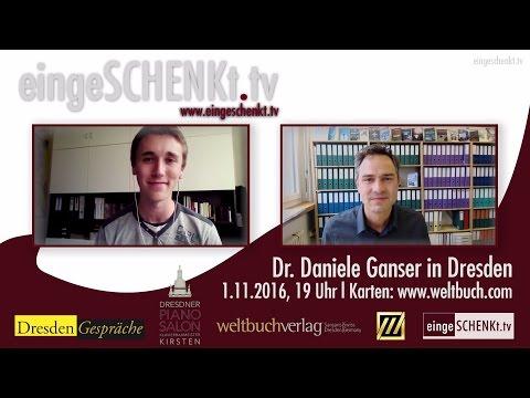 Dr. Daniele Ganser am 1.11.16 in Dresden - Interview