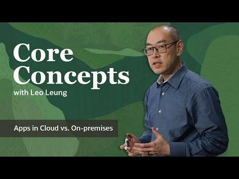 Core Concepts: Enterprise Apps in Cloud vs. On-premises