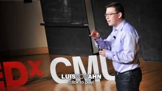 Massive-scale online collaboration | Luis von Ahn(http://www.ted.com After re-purposing CAPTCHA so each human-typed response helps digitize books, Luis von Ahn wondered how else to use small ..., 2011-12-06T20:24:26.000Z)