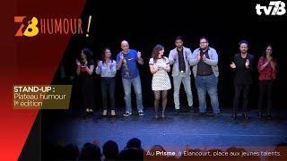7/8 Humour. Plateau Stand-Up de décembre, 1ère édition