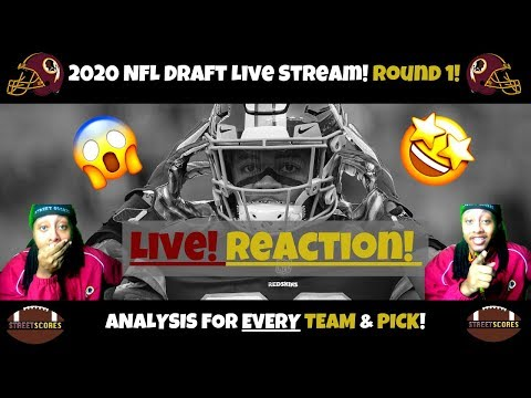 ✌LIVE 2020 NFL Draft Stream! Reaction & Analysis To ALL 32 Picks Of First Round! Full Breakdown!✌