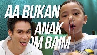 TIBA TIBA PAPA BAIM MUNTULL - RAFATHAR PRANK PART 2