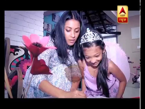 Meet Barkha Bisht's little daughter Meera