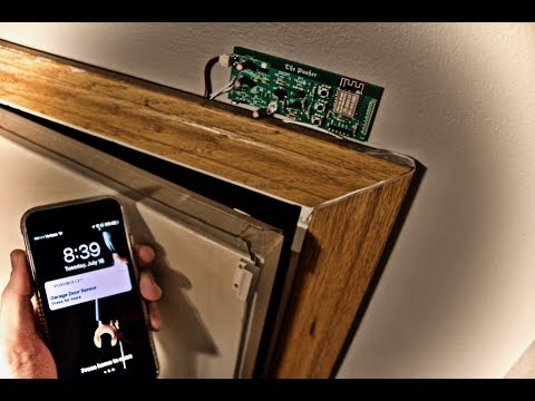IoT -  Send Push Notifications with ESP8266 WiFi - Low Power Door Switch Monitor  1uA!!
