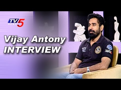 Vijay Antony Exclusive Interview | Bichagadu Movie | Santa Titus | Sasi | TV5 News