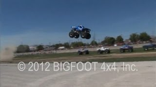 BIGFOOT Monster Truck Sets World Record