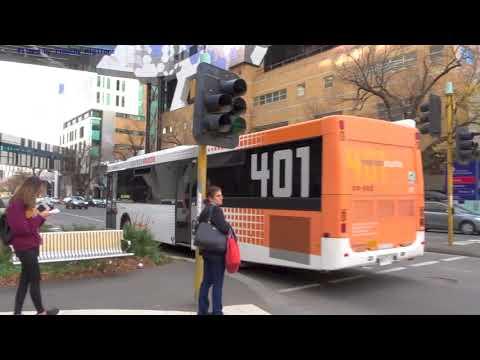 Buses In Melbourne, Australia 2017
