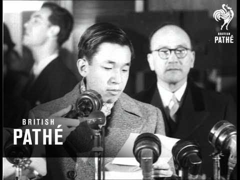 Prince Akihito Arrives (1953)