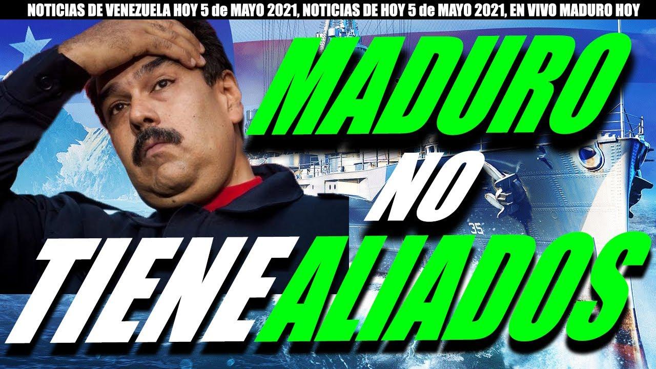 COLOMBIA NOTICIAS de hoy 5 De MAYO, NOTICIAS de VENEZUELA hoy 5 De MAYO 2021,  NOTICIAS  ULTIMA HORA