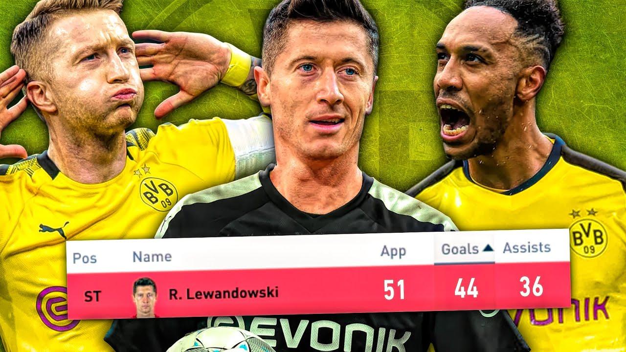 If DORTMUND KEPT All Their Best Players In FIFA 20! (LEWANDOWSKI, AUBAMEYANG!💪🏼)
