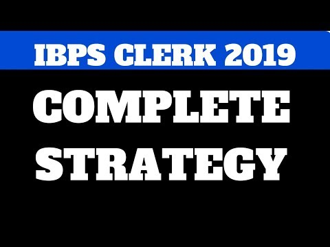 IBPS CLERK 2 MONTH STRATEGY (LIVE)