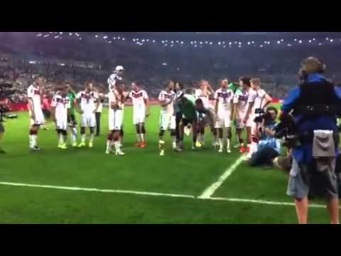 Final world cup 2014 - Germany Celebration - The champion of world cup 2014