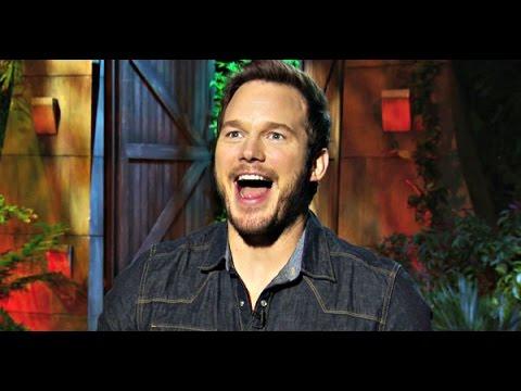 Jurassic World Interview: Chris Pratt Does Stupid Human Tricks