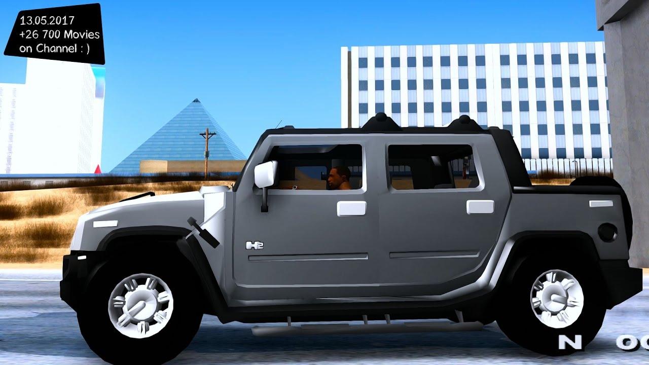 Hummer H11 Alpha New ENB Top Speed Test GTA Mod Future | future hummer
