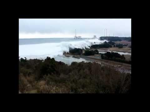 Tsunami near Naraha, Fukushima Prefecture