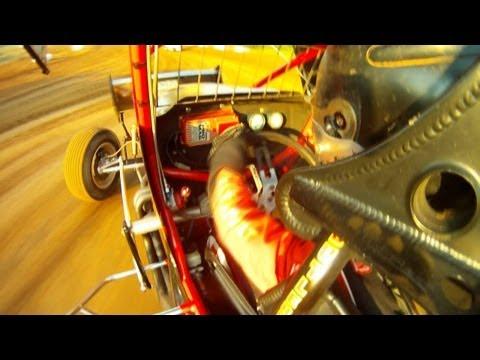 Morgan Turpen - Sprint Car Hot Laps at Crowley's Ridge Raceway