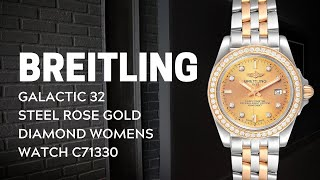 Breitling Galactic 32 Steel Ro…