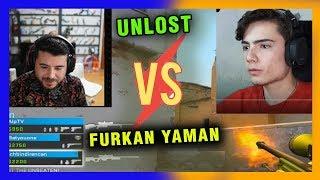 UNLOST VS FURKAN YAMAN CS GO SECTÖR CUP