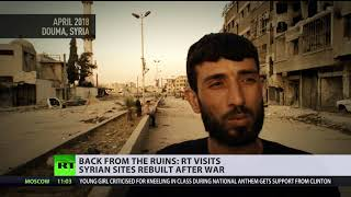 Life in the ruins: Syrians get back to normal life, rebuild cities after war
