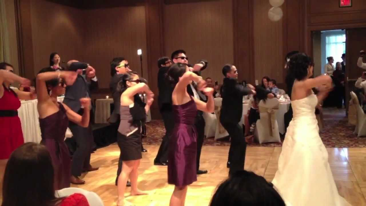 GANGNAM STYLE By PSY WEDDING Dance Intro
