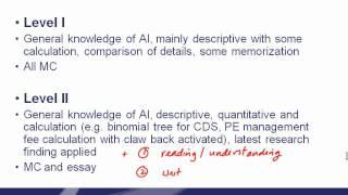 CAIA Level 1 - Program Overview Part 2 - Dr. Thomas Wu DBA, MBA, CFA, FRM CAIA, CPA (US), CA