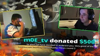 CS:GO - When STREAMERS get LIFE CHANGING DONATIONS!! ft. Lo0p, FalleN, kennyS & More!