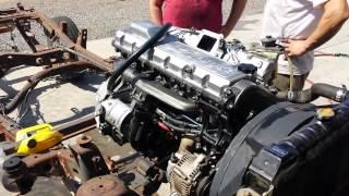 Firing up the rebuilt 1HD-FT