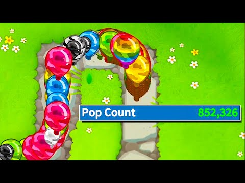 Popping Over 850,000 Balloons While Trying To Break My PC in Bloons TD 6