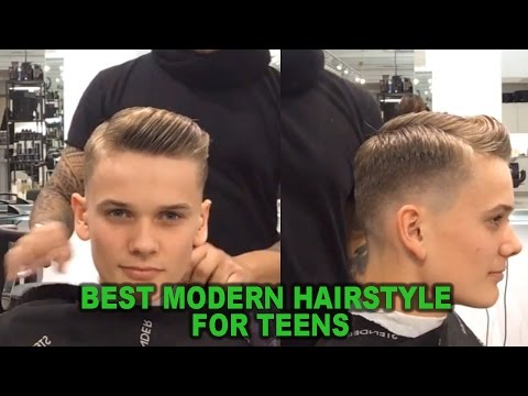Best Modern Hairstyle for teens 2017 | Taper Fade | Popular Hairstyle For Guys