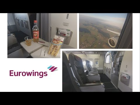 NEW Eurowings BEST [Business] Flight report ✈ Cologne - Munich ✈ Airbus A320
