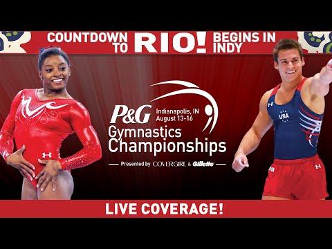 2015 P&G Gymnastics Championships - Sr. Women (Day 1)