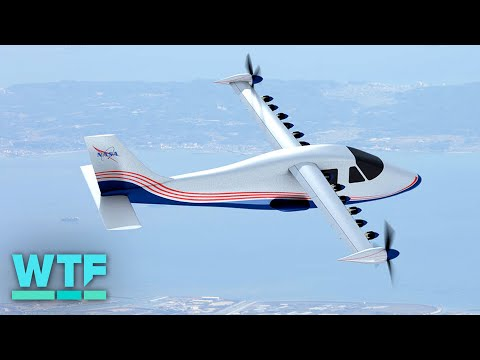 NASA's first manned X-plane in 2 decades is 100% electric