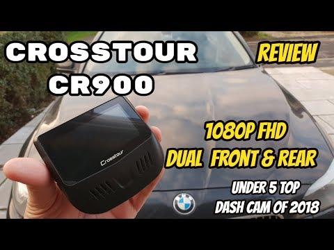Crosstour CR900 Dual 1080P FHD Front & Rear Dashcam - Recordings & Details