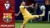 BARCELONA op volle TOEREN, De Jong ONMISBAAR | Eibar vs Barcelona | La Liga 2019/20 | Samenvatting