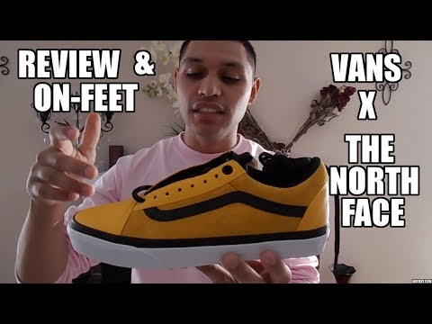 Vans X The North Face | Review & On Feet YouTube