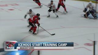 Icehogs begin training camp