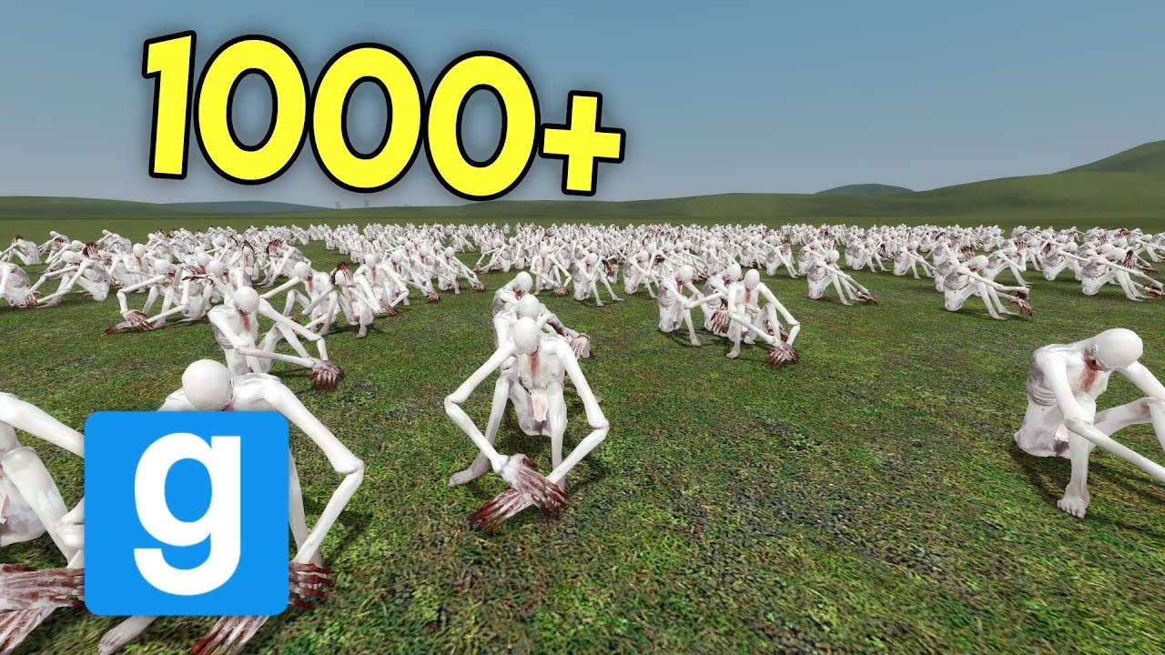 HOW MANY SCP-096's CAN MY COMPUTER HANDLE?! (gmod scp)