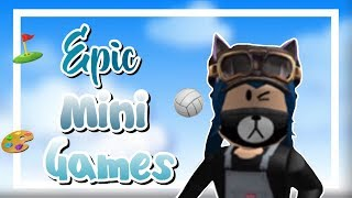 I suck at epic mini games! | HeyLookItsAshley (Roblox)