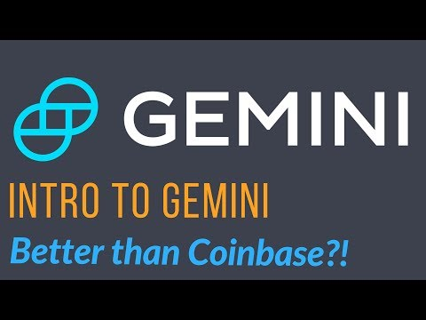 Intro To Gemini - Low Fees And Great Alternative To Coinbase!