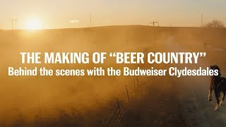 "Budweiser | The Making of ""Beer Country"" 