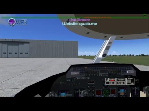 Web Flight Simulator