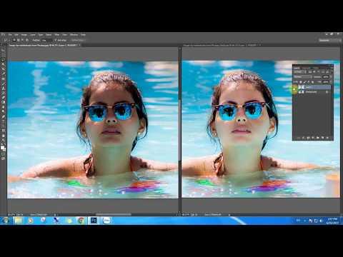 Học Photoshop - Cách khắc phục và xóa bóng tối khỏi khuôn mặt trong Photoshop