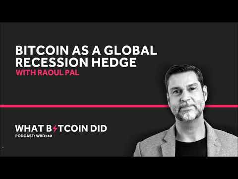 Raoul Pal On Bitcoin As A Global Recession Hedge