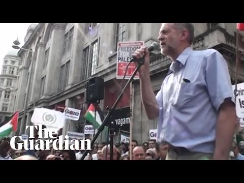Corbyn compared plight of Gaza with 'siege of Leningrad and Stalingrad' in 2010 speech