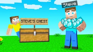 STEALING STEVE'S MINECRAFT Diamonds!