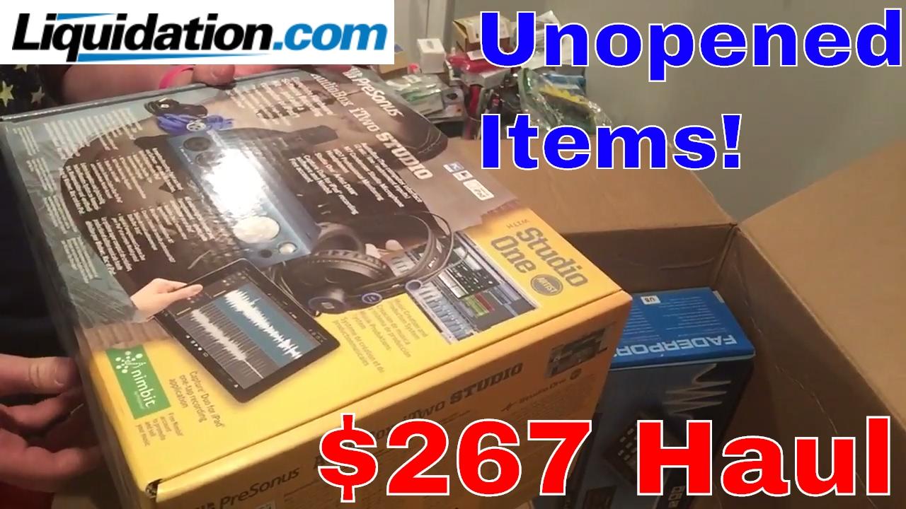 Unopened Merchandise! Great Haul from Liquidation com!